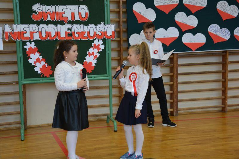 Zespół Szkół w Chorzelowie ŚWIĘTO NIEPODLEGŁOŚCI