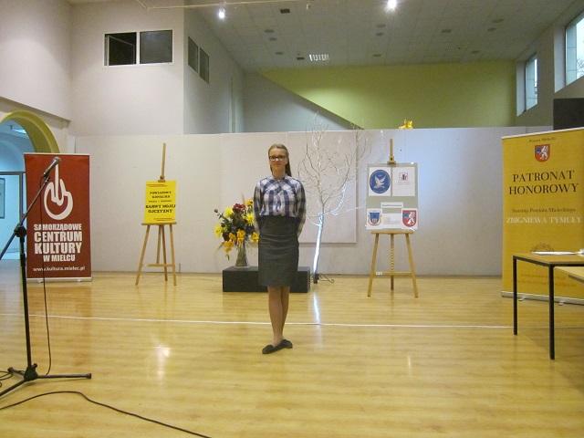 """Zespół Szkół w Chorzelowie VII  edycja Powiatowego Konkursu """" Barwy mojej Ojczyzny"""""""