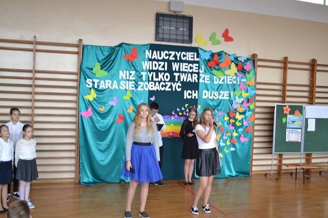 Zespół Szkół w Chorzelowie Mój nauczycielu…- akademia z okazji Dnia Edukacji Narodowej
