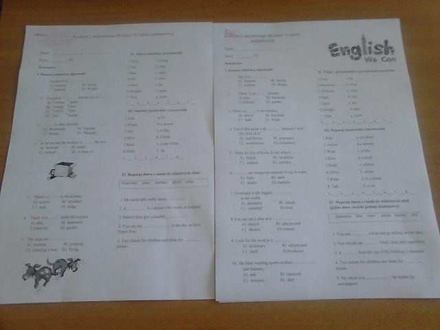 Zespół Szkół w Chorzelowie ENGLISH?  YES, WE CAN!