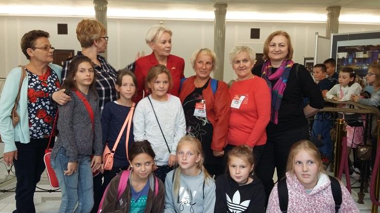 Zespół Szkół w Chorzelowie Laureaci konkursu w Warszawie